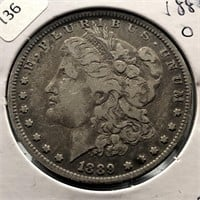 1889 O MORGAN DOLLAR  VF