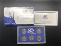 2000 PROOF QUARTER SET
