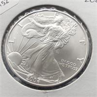 2004 SILVER EAGLE  GEM