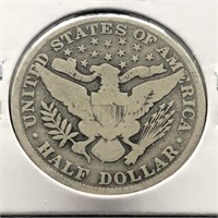 1906 BARBER HALF DOLLAR  G