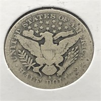 1899 S BARBER HALF DOLLAR  G