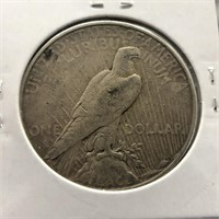 1928 S PEACE DOLLAR  XF