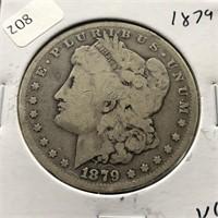 1879 MORGAN DOLLAR  VG