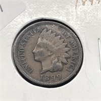 1899 INDIAN HEAD CENT  VF