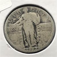 1927 STANDING QUARTER  VG