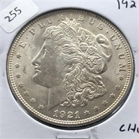 1921 MORGAN DOLLAR CHOICE BU