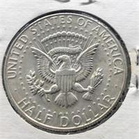 1968 D KENNEDY HALF DOLLAR  BU