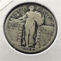 1928 STANDING QUARTER  F