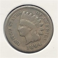 1894 INDIAN HEAD CENT  VG