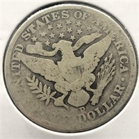 1906 O BARBER HALF DOLLAR G