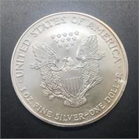 2002 SILVER EAGLE  GEM