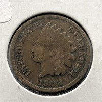 1908-S INDIAN CENT