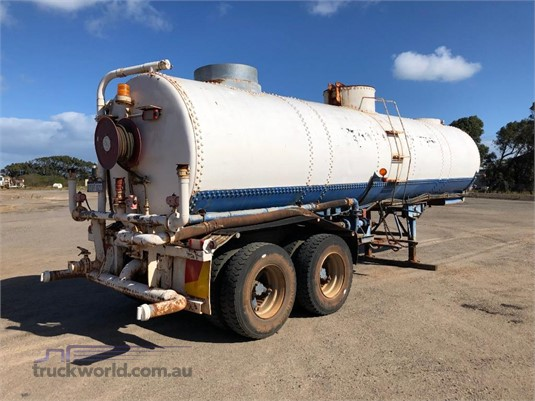1987 Custom Water Tanker - Trailers for Sale