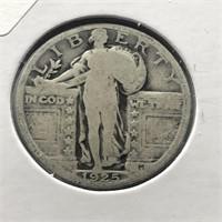 1925 STANDING QUARTER  VG