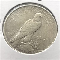 1924 PEACE DOLLAR  XF