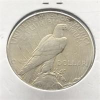 1922 S PEACE DOLLAR