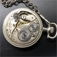 10 POCKET WATCHES  NEED WORK