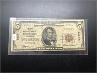 1929 NATIONAL CURRENCY KNOXVILLE TN