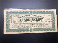 1 $ OKLAHOMA TRADE SCRIPT