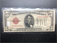 1928 5 4 RED SEAL  VF