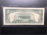 5 DOLLAR RED SEAL