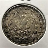 1921 MORGAN DOLLAR  XF