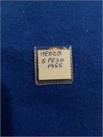 Gold Mexico 5 Peso