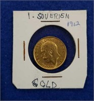 912 Gold Sovereign