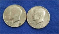 State Quarters And Kennedy Half Dollars