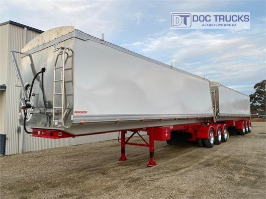 2020 Freightmaster B Double Tippers DOC Trucks - Trailers for Sale