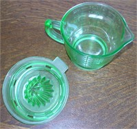 Green Depression Measuring Cup & Reamer