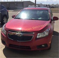 2014 Chevy Cruz Car Fully Loaded with Sunroof
