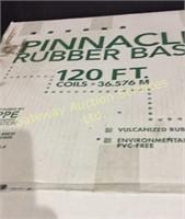 120 Feet of Rubber Base Board, Single Round....