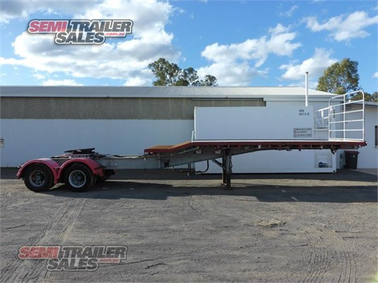 1993 Smiths & Sons Flat Top Trailer Semi Trailer Sales - Trailers for Sale
