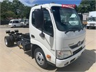 2014 Hino 300 Series 616 Cab Chassis