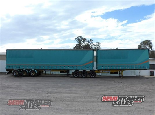 1996 Freighter Curtainsider Trailer Semi Trailer Sales - Trailers for Sale