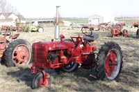 On-Location -May 15th  Farmall Tractor & Estate  Auction