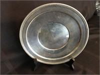 Fisher Silversmiths Sterling Silver Charger
