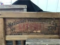 Three Wash Boards, National Washboard Company,