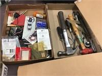 Hammers,  screwdriver, craftsman ratchet wrench,