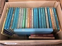 Box of religious books