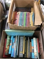 Books including the golden book Encyclopedia, the