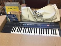 Casio keyboard CT 360 And sheet music