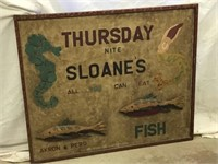 Sloane's Thursday night all you can eat fish