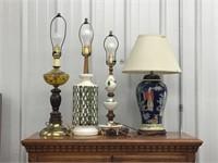 Four lamps