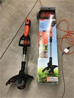 Black and decker cordless weedeater, No battery