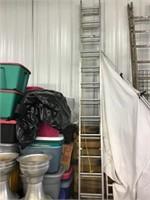 Keller 24 foot extension ladder, aluminum