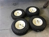Four Utility Wheels 12.5 X 4.5–6