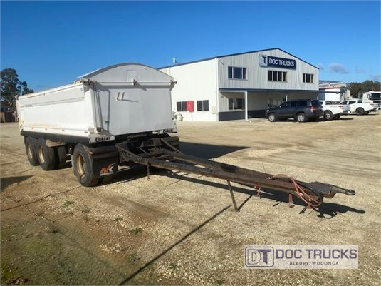 2011 Gorski Super Dog Tipper Trailer DOC Trucks  - Trailers for Sale