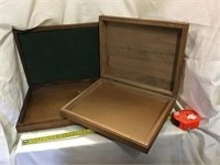 Wooden Boxes, 18 Inch And 12 Inch
